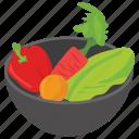 food collection, vegetable basket, vegetable box, vegetable bucket, vegetable cart icon