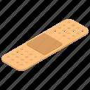 band aid, bandage, injury band, medical plaster, plaster band icon