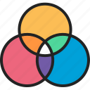 chart, circle chart, diagram, graph, infographic, pie graph, stats data analysis icon
