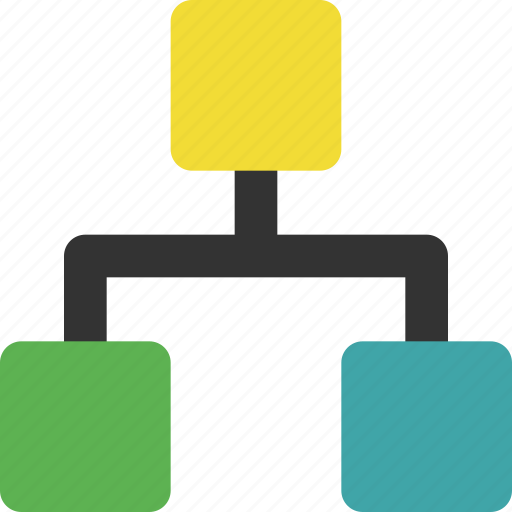 analysis, analytics, chart, diagram, hierarchy, process, structure icon