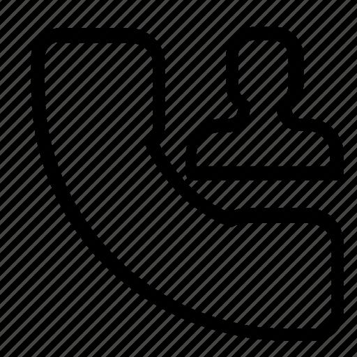 call, contact icon