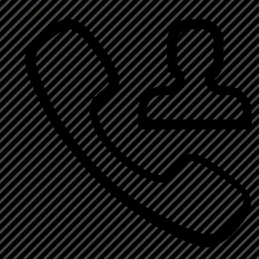 call, contact, user icon