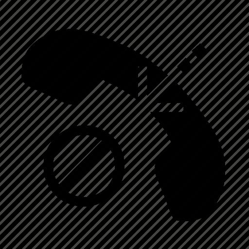 block, call, hang up icon