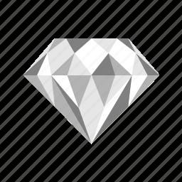 diamond, gem, jewel, jewelry, treasure icon