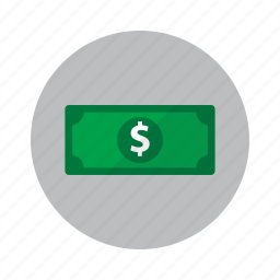 bank note, cash, dollar, finance, money, payment icon
