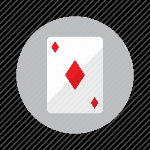 card, casino, diamond, gambling, playing card, poker icon