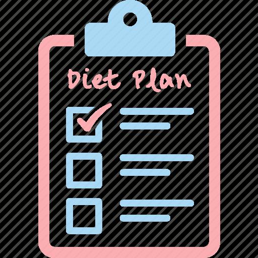 aim, check, diet, goal, list, plan icon