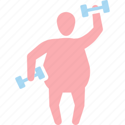 aerobics, diet, exercise, fitness, sport, traning, weight icon