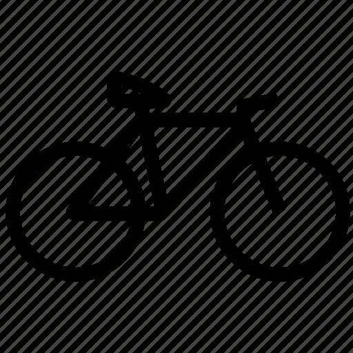 bike, diet, fitness, gym, health, weight icon