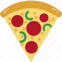 calorie, fat, nutrition, pizza icon