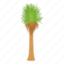 cartoon, floral, green, oil, palm tree, palmtree, tree icon