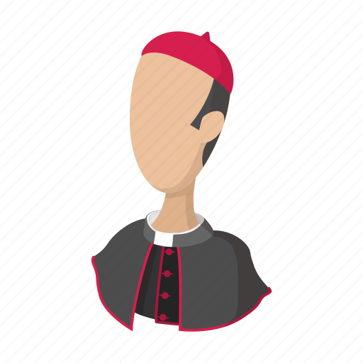 cartoon, catholic, catholicism, church, pope, priest, religion icon
