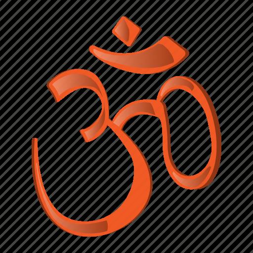buddha, cartoon, hindu, ohm symbol, philosophy, religion, spirituality icon