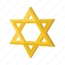 cartoon, david, hexagram, jew, jewish, judaism, star icon