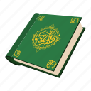 arabic, cartoon, holy, koran, muslim, quran, religion icon