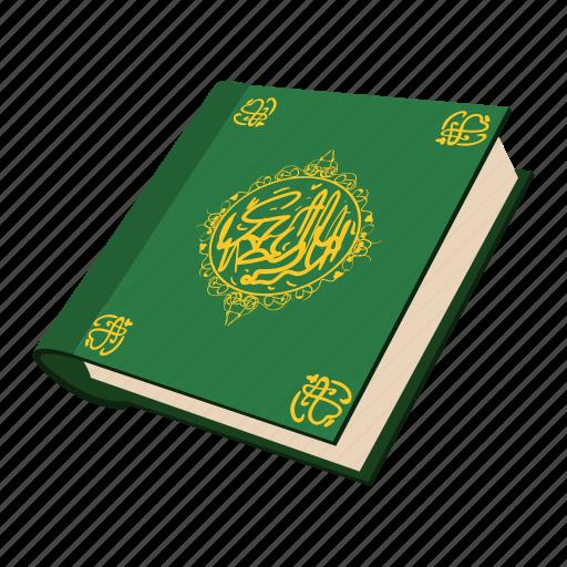 arabic, cartoon, holy, koran, muslim, quran, religion icon