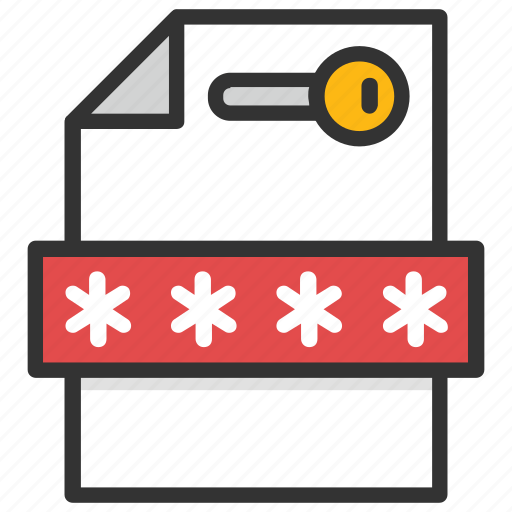 data encryption, data privacy, data protection, data security, file password icon