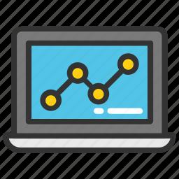 graph search, seo, web analysis, web analytics, web traffic icon