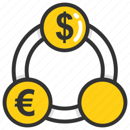 currency exchange, foreign currency, foreign exchange, forex, fx icon