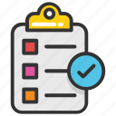 audit, checklist, list, schedule, survey icon