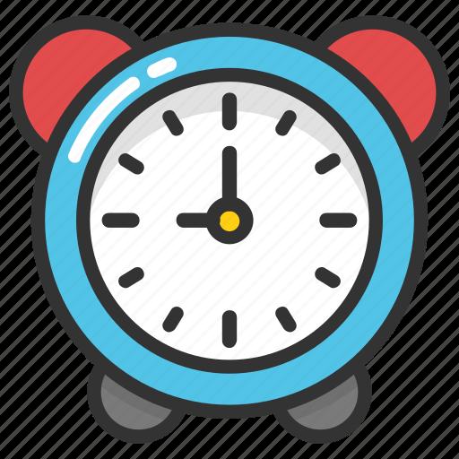 alarm, clock, timekeeper, timepiece, watch icon