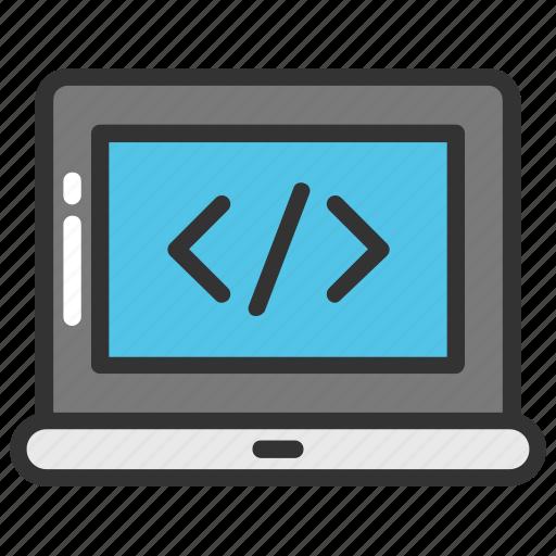 coding, html, programming, programming language, source code, web development icon