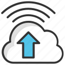 cloud app upload, cloud data upload, cloud storage, cloud upload, transfer cloud icon