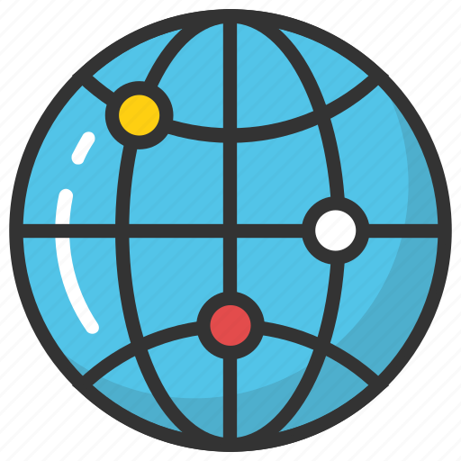 affiliate network, global network, internet network, network diagram, network topology icon