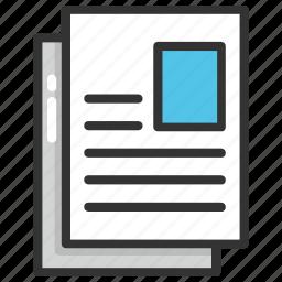 applicant, curriculum vitae, cv, job application, resume icon