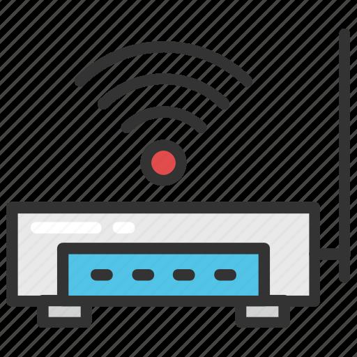 broadband internet, internet booster, internet connection, internet modem, internet router icon