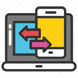 adaptive design, responsive design, website designing, website layout, wireframe icon