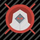 anti, block, hacker, solve, threat icon
