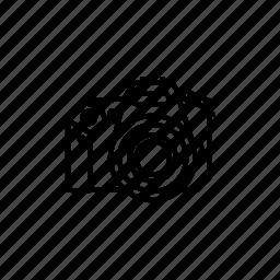 camera, digital, dslr icon