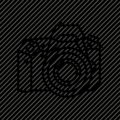 camera, digital, dslr, full frame icon