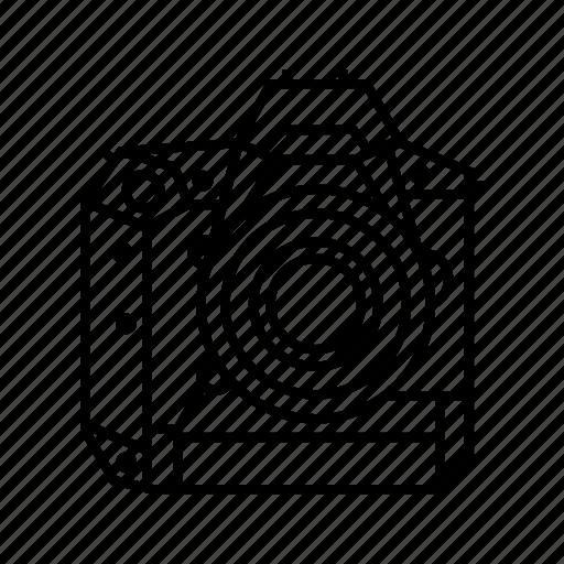 Camera, digital, dslr, full frame icon - Download on Iconfinder