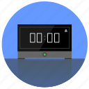digital, home, morning, timer, watch icon