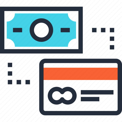 banking, card, commerce, credit, method, money, payment icon