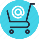basket, buy, cart, commerce, ecommerce, email, shopping icon