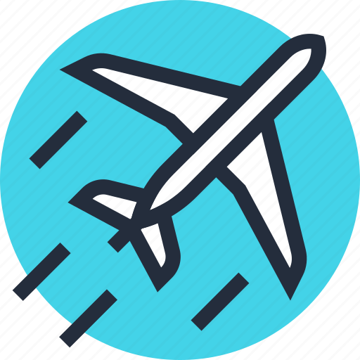 airplane, flight, global, international, plane, transportation, travel icon