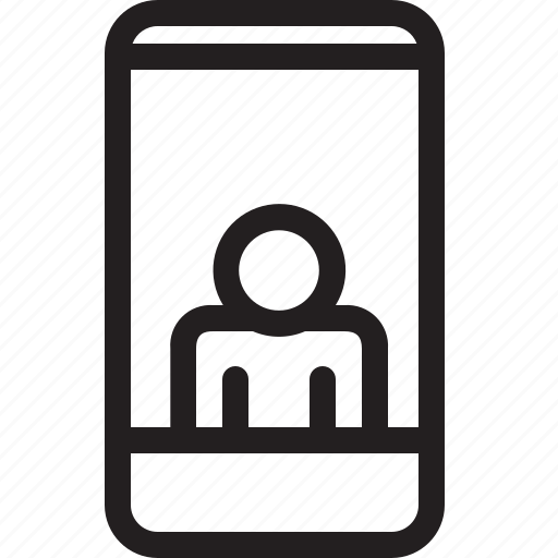 communications, digital, media, singel interface channel icon