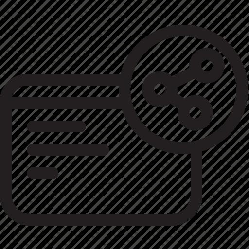 communications, digital, network based icon