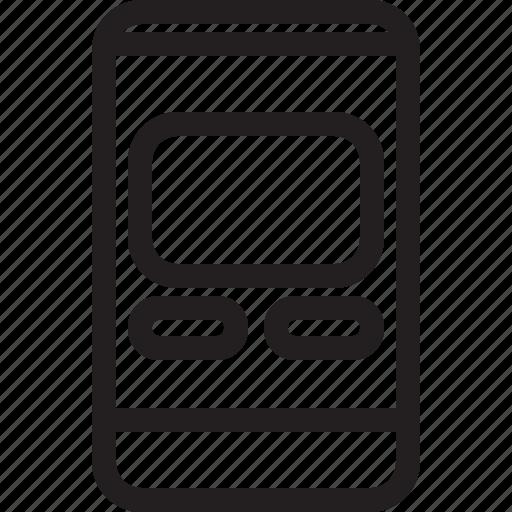 communications, digital, media icon