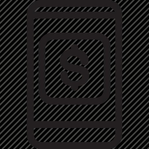 banner, bill, communications, digital, media, pay, push transactions icon