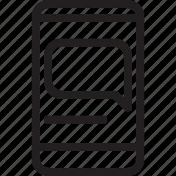 banner, communications, digital, media icon