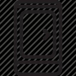 banner, communications, digital, landing, landing page, media, page icon