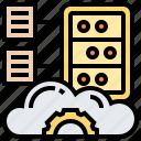 cloud, data, server, storage