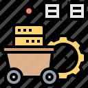 analysis, data, databse, mining, network icon