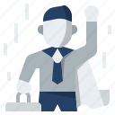 businessman, competitive capability, compettitive, goal, success icon