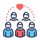 community, group, people, team
