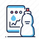 app, hydration, tracker, water icon